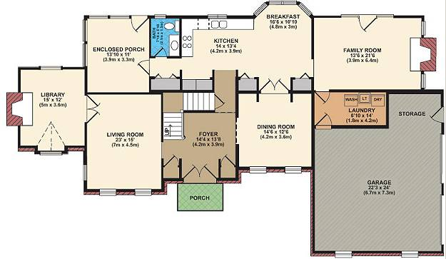 Free house plan Building layout plan free