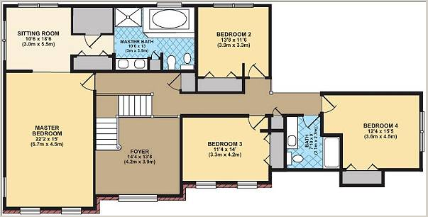 Free house plan House drawing plan layout